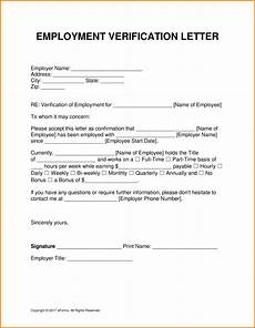 7 employment and salary verification letter sle simple salary