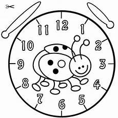 Uhr Malvorlagen Kostenlose Malvorlage Uhrzeit Lernen Ausmalbild
