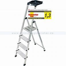 Trittleiter 4 Stufen - trittleiter krause secury multigrip 4 stufen