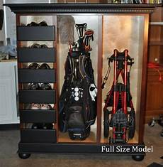 Garage Storage Ideas For Golf Clubs by Size Cabinet Will Store Six Pairs Of Golf Shoes Two
