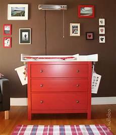 hemnes kommode rot wickeltischaufsatz f 252 r ikea kommode selber bauen kullaloo