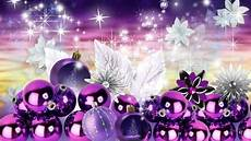 purple christmas charm desktop wallpaper desktop wallpapers purple christmas purple