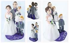 figurine mariage personnalisé figurine pi 232 ce mont 233 e avec des enfants d 233 coration