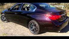 2015 infiniti q50 hybrid malbec black youtube