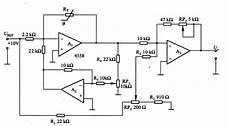 temperature voltage conversion circuit of thermistor basic circuit circuit diagram seekic com