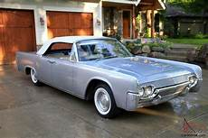 beautiful early 1961 lincoln continental convertible