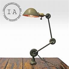 vintage industrial edon desk wall articulating task l ebay