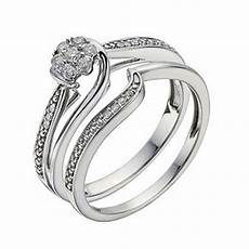 fit 9ct white gold 15 point diamond bridal h