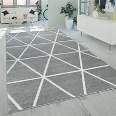 teppich kurzflor grau kurzflor wohnzimmer teppich modern geometrisches design