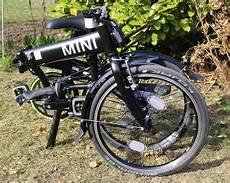 das bmw mini folding bike black im klapprad faltrad test