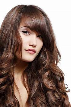 hairstyles thick hair hairstyles for wavy thick hair with bangs