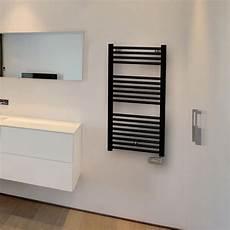 seche serviette noir electrique 65947 seche serviette electrique 50 cm 500w chauffage salle de bain