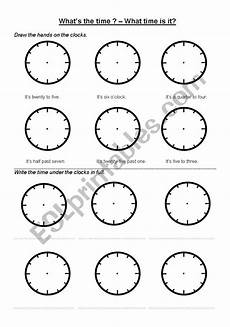 what s the time printable worksheets 3783 what 180 s the time esl worksheet by dand