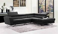 Ledersofa L Form - liza leather l shaped sectional sofa leather sectionals