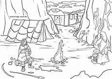 색칠 공부 페이지 석기 시대 동굴 역사