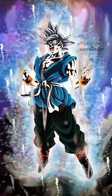 Goku Ultra Instinto Dominado By Majingokuable On Deviantart