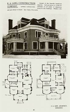 vintage victorian house plans victorian era mansion plan victorian house plans