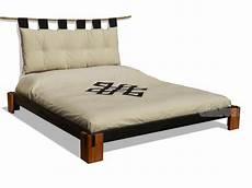 testiera futon letto tokio f di cinius in legno massello moderno e