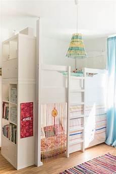 kinderzimmer hochbett ein selbst gebautes hochbett im kinderzimmer kinder