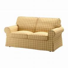 ektorp bezug 2er sofa skaftarp gelb ikea