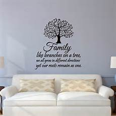 inspirational wall sticker quotes family wall decal quotes family like branches on a tree