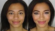 maquillage pour peau mate tutoriel maquillage cynthia
