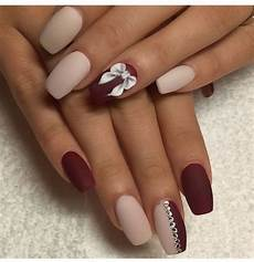 two tone matte nails pretty designs