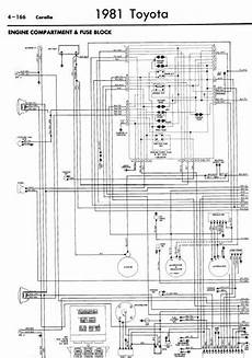 toyota corolla 1981 wiring diagrams online manual sharing