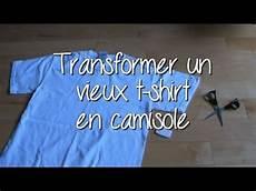 t shirt en do it yourself transformer un vieux t shirt en