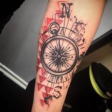 150 compass tattoos that make you more stylish body