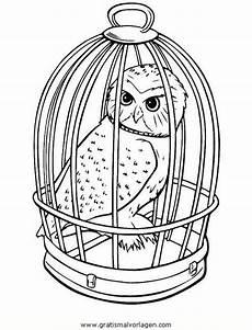 Eule Hedwig Malvorlage Hedwig Malvorlage Eule Harry Potter Bilder Wenn Du Mal