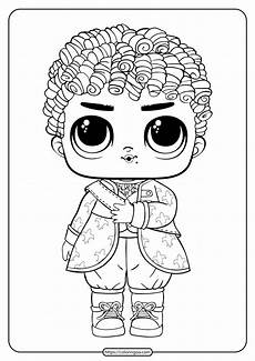 Lol Coloring Pages In Color Lol Boys His Royal High Ney Coloring Page