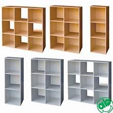 libreria componibile libreria legno cubo 3 6 9 bianco ciliegio ufficio casa