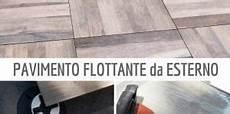 pavimenti per terrazzi esterni galleggianti pavimento galleggiante su guaina di terrazzo una
