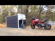 motorrad garage motorradgarage garage bike box by gromparts
