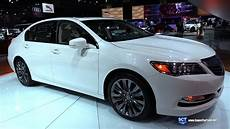 2016 acura rlx p aws exterior and interior walkaround 2015 la auto show youtube