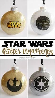 wars diy diy glitter wars ornaments