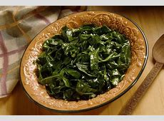 cooking mustard and turnip greens