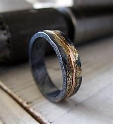 14k rose gold sterling silver 14k gold mixed metal ring