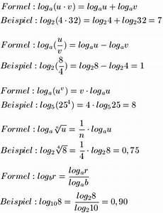 logarithmus regeln