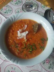 Chains And Cakes Rote Linsensuppe Mit Kokosmilch