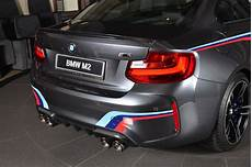 bmw m2 gets m performance parts and akrapovic exhaust system i new cars