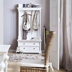 landhaus garderobe mit sitzbank homestyle