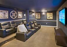 Home Theater Decor Ideas by Make The Most Of Your Finished Basement Toll Lifestyle