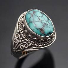 bague en argent avec turquoise silver rings
