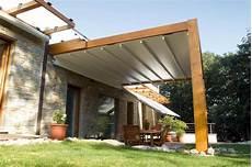 Dach Terrasse Windschutz Segel - the firenze pergola cover retractableawnings
