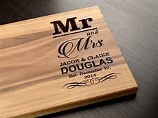 Cutting Board Wedding Gift