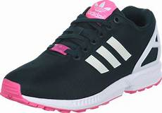 adidas zx flux w shoes green pink