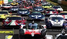 Le Mans 24 Hours 2018 Grid Starting Including