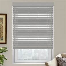 2 quot premium faux wood blinds from selectblinds